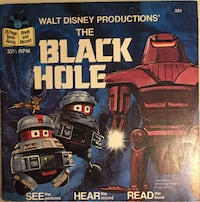 Walt Disney Productions: The Black Hole (24 page Read-Along & Record) 33 1/3rpm  Winnipeg, R2M 5G4