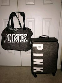 black and white Victoria's Secret PINK tote bag Fayetteville, 28303