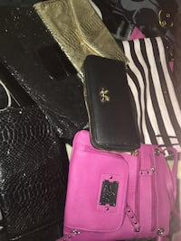 Assortment of various bags /wallets/clutches/etc. $40 for everything seen ! Las Vegas, 89156