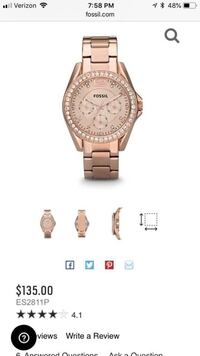 New Womens fossil watch
