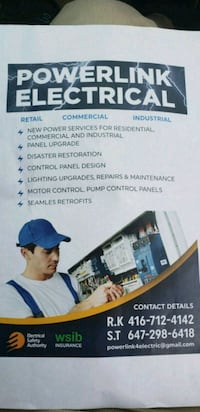 Electrical and wiring installation Brampton