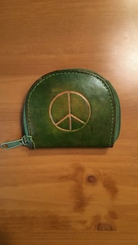 green leather coin purse Twinsburg, 44087