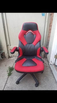 Red and black gaming chair Orange, 92869
