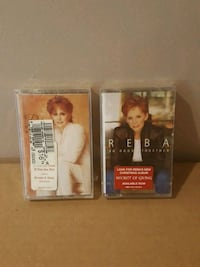 Two Reba McEntire cassette's new !! Barrie, L4N 8S6