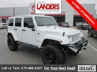 2015 Jeep Wrangler Unlimited Rubicon Rogers, 72758