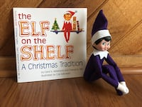 Purple girl elf on the shelf set Coral Springs, 33071