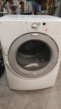 white Whirlpool front-load clothes washer Atlanta, 30311