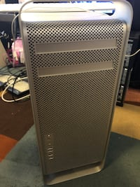Mac Pro 2008, 2.8 Ghz Xeon (Quad Core), 12 GB RAM, 320 GB Hard Drive, ATI Radeon HD 4870. Mac OS El Capitan 10.11.5 Chantilly, 20151