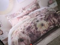 ~BRAND NEW~ LC Full-Queen 3 pc comforter set Spring bloom La Vista