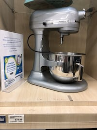 Kitchenaid mixer with attachment cook book & cover that retails $30. Never been used brand new. Retails for over 700+tax. Asking $350. Such an still. Model no: 4KB25G1XMC. Just done have use for it. West Vancouver, V7S 2T9