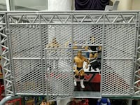 Plastic Wrestling Steel Cage For WWE Action Figure