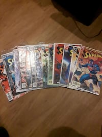 Superman comic books sealed in pkgs Red Deer, T4P 1L3
