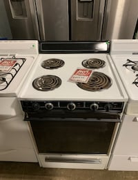 """✌Used electric stove 24"""" coil top - Farmingdale"""