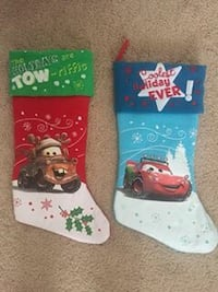 Two disney cars themed stockings Aldie, 20105