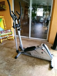gray and black elliptical trainer Kissimmee, 34744