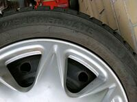 gray 5-spoke car wheel with tire Montréal, H1S 2A5