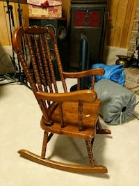 brown wooden windsor rocking chair Woodinville, 98077