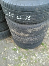 4 used michelin 265/60/R18 tires