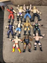 Wwe action figures  Chesapeake, 23323