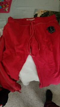 red and black zip-up hoodie Schenectady, 12309