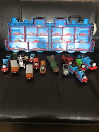 Thomas the Train with carrying case