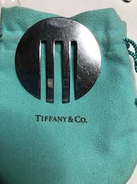 Vintage Sterling Silver Tiffany & Co Book Mark Springwater, L0L 1X0