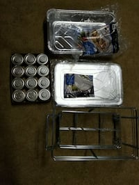 burners (12 cans) tins, lids & tray holders Beecher, 60401