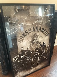 Large  Framed SoA Poster Plymouth, MI 48170, USA, 86403