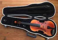 Brown violin with bow in case. Good condition, barely used. Columbia, 29205