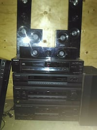 black and gray stereo component Edmonton