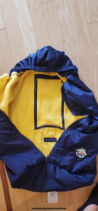 blue and yellow zip-up hoodie Portland, 97266