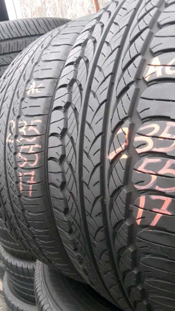 235/55-17 #2 tires  0