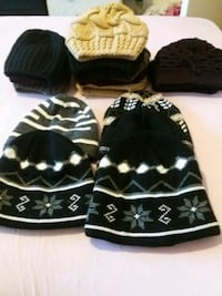 assorted-color knit hat mycket