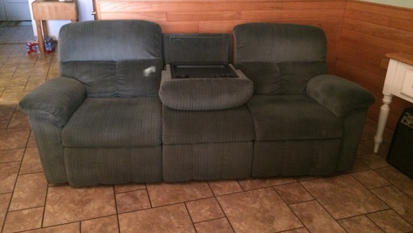 Used Lazy Boy 2 Recliner Sofa For