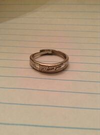 Silver colored I love you Ring Kernersville, 27284