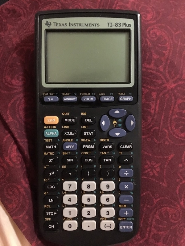 Used TI 83 Texas Instruments calculator for sale in Panama