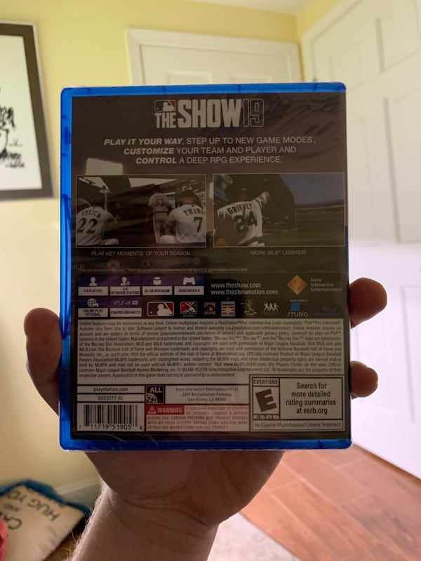 MLB The Show 2019 (PS4) [ Brand new/Sealed] 9ca039c4-fcbf-40a9-93d2-c0698b2b6301