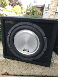 Subwoofer with attached Amp Surrey, V3V 7W2