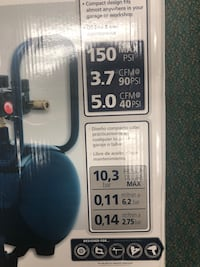 Compressor, Tools-air 150 PSI 8 GAL Campbell Haus Brand New in Box!! Baltimore, 21217