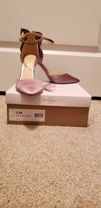 Jessica Simpson Blush Satin Bow Pumps Size 8