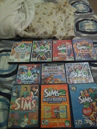 assorted Nintendo Gamecube game cases Chaves County