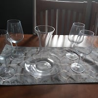 Wine Decanter with Wine glasses