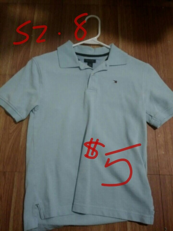 32ac0fab Used blue Tommy Hilfiger polo shirt for sale in Pearsall - letgo