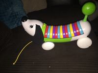 white musical dog toy Clearfield, 84041