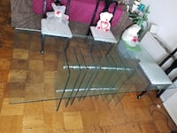 Glass Table and Chairs 72'  34 mi