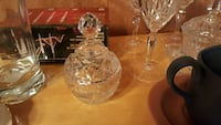 cut crystal decanter wine bottle Edmonton, T5T 6X3