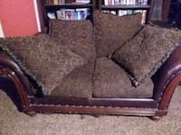 Brown leather and floral cloth design... Anthony, 79821