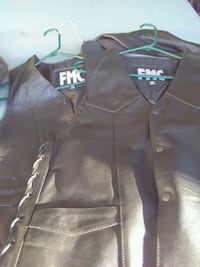 black leather vests. Great for riding Vallejo, 94592