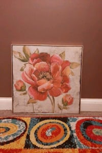Flower Painting wall decor