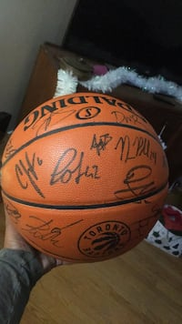 Autographed basketball 2016 All star weekend Toronto, M6A